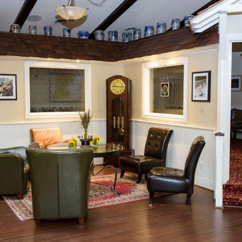 Lounge by main bar